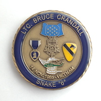 Click to see more information on the Crandall Challenge Coin