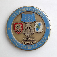 Click to see more information on the Fleming Challenge Coin