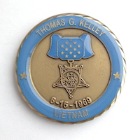 Click to see more information on the Kelley Challenge Coin